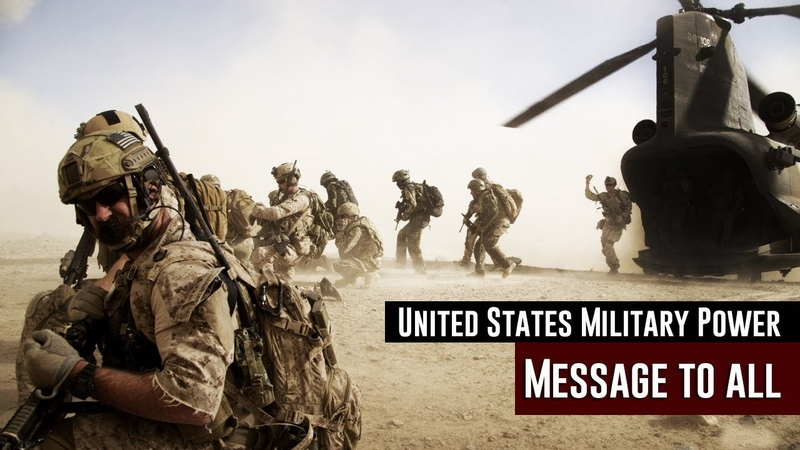 United States Military Power 2018 U.S Armed Forces Demonstration • Message to all