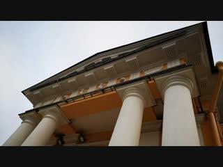 На Сенной площади закончена реставрация фасадов бывшего здания гауптвахты