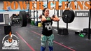 Bayley Power Cleans (HOW TO!)