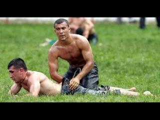 Turkish Boys, Oil Wrestling