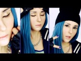 Dara 2NE1 (Come Back Home) make up tutorial by Anastasiya Shpagina