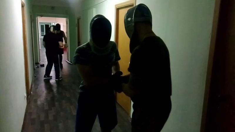 Тренировка по ножевому бою. Часть 2. СПАС.