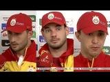 Sabri - Sneijder ve Muslera Fenerbahçe Maçı Sonrası Açıklamalarda Bulundu