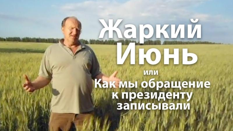 Ягодновские рассказы Жаркий июнь, Митинги или Как мы обращение к президенту записывали Прямаялиния