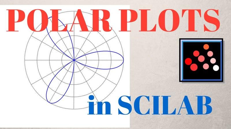 Creating POLAR PLOTS in Scilab