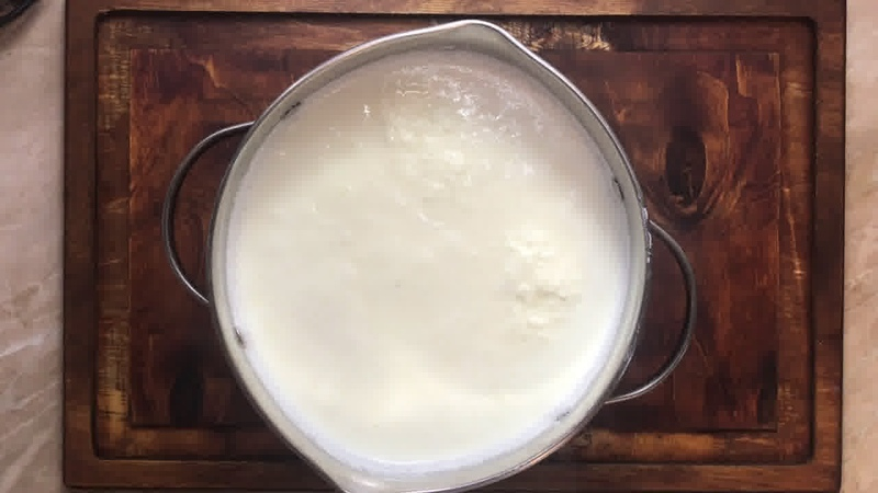 Завтрак • Сыр из яиц с укропом