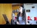 MAGRAD MGERIS - Mariam Chachkhiani live Leona Lewis- here i am.flv