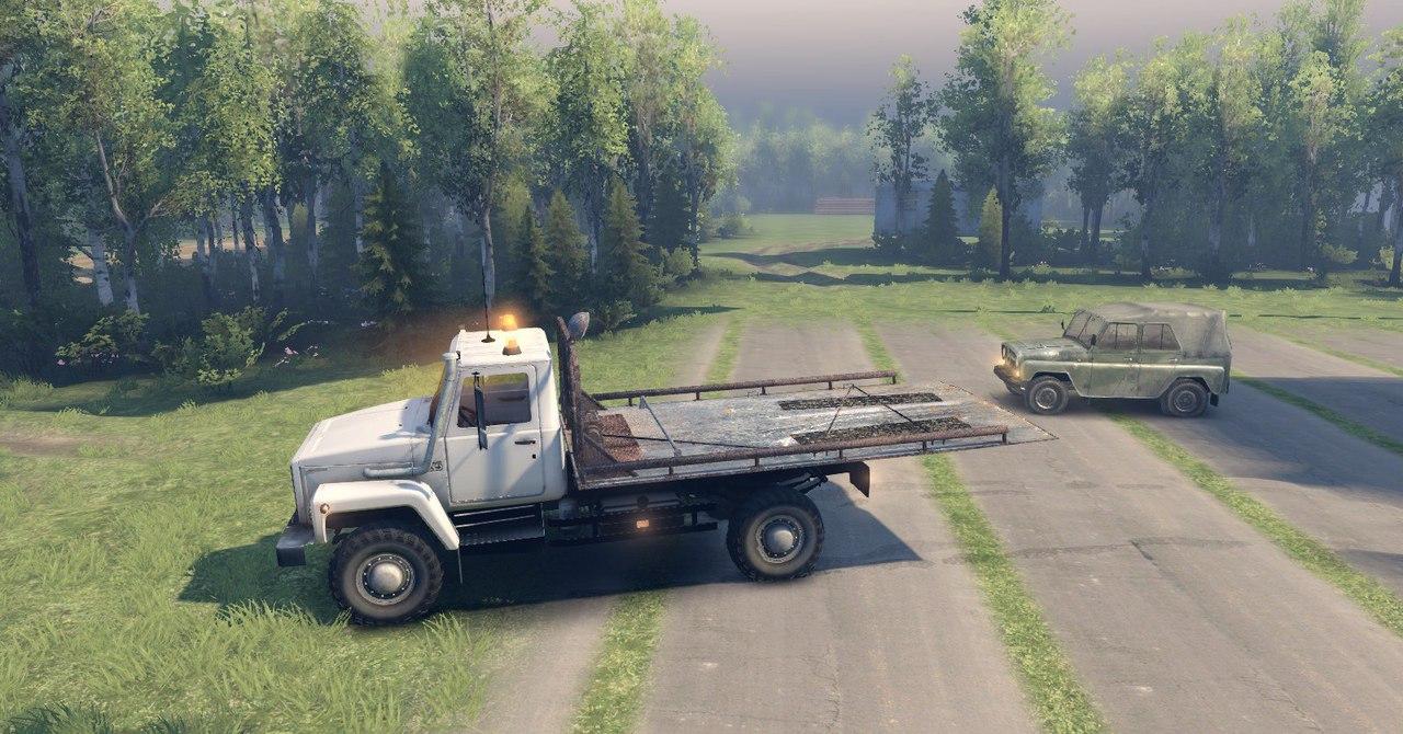 """Газ-САЗ-2506 """"Земляк"""" alpha версия для Spintires - Скриншот 3"""