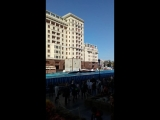 экстрим на площади Революции