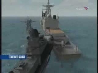 Как Cоветские моряки таранили америкосов в Севастополе.