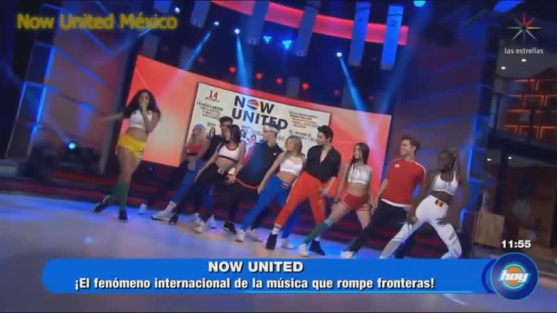 [Live Performance ] Who Would Think That Love - NOW UNITED - Mexican TV - 31082018