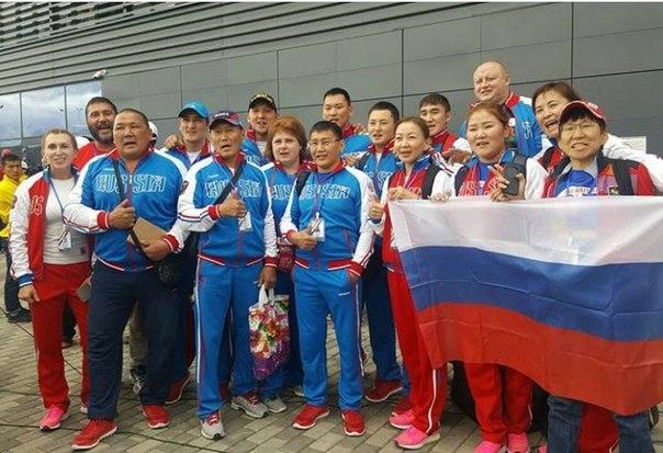 Девять якутян завоевали «золото» чемпионата мира по мас-рестлингу