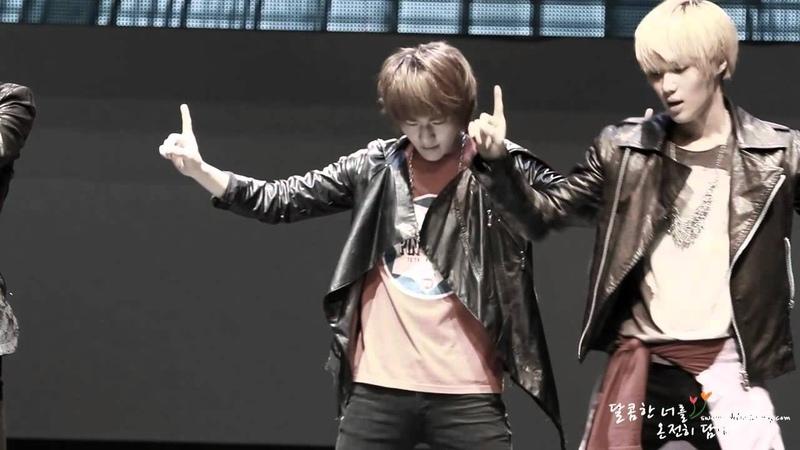 [fancam] 111015 SHINee Onew - Lucifer @ Friend of Korea Concert