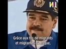 Nicolas Maduro Président du Venezuela Les Français doivent dire MERCI aux AFRICAINS