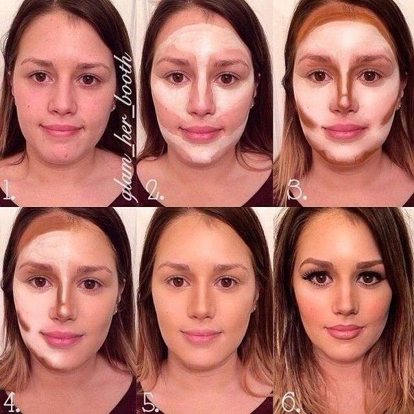 Как сделать расширить лицо