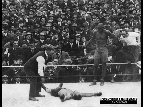 Jack Johnson KOs Stanley Ketchel This Day October 16 1909
