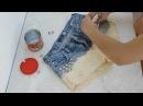 DIY ✂ Como tingir shorts jeans - Degradé  ✂ Ombré Shorts