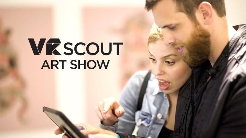 VRScout Art Show - VR AR Art