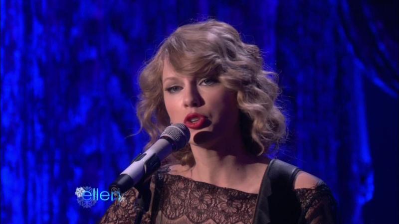 Taylor Swift - Back To December (Live on The Ellen Show 2010)