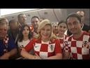 Президент Хорватии Колинда Грабар Китарович поблагодарила Россию за организацию чемпионата мира по ф