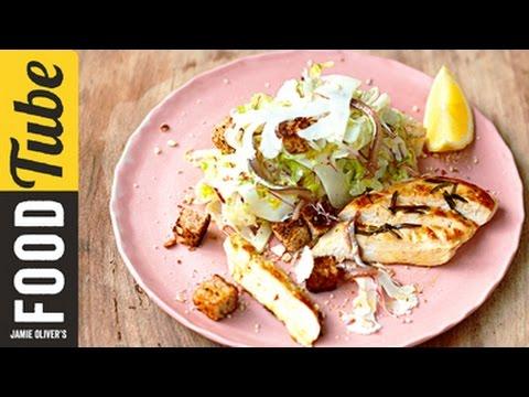 Healthy Chicken Caesar Salad | Jamie Oliver