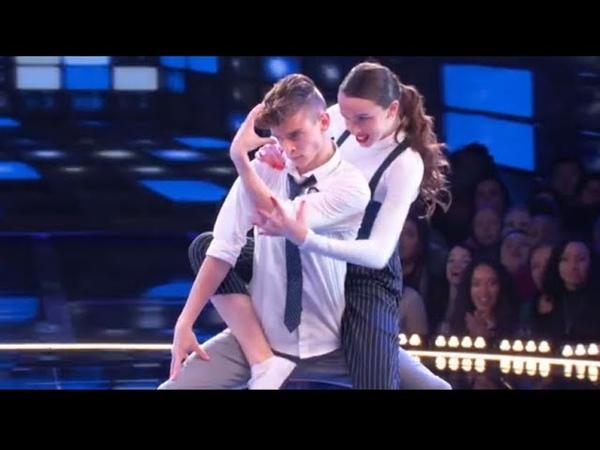 Taylor Hatala , Josh Beauchamp , world of dance ,season 2 , 1st performance