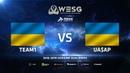 Team1 vs UA$AP, map 1 mirage, WESG 2018 Ukraine Qualifier 2