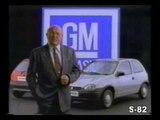 PROPAGANDA COMERCIAL GM CHEVROLET OPEL CORSA WIND 1994 BRASIL BRAZIL ANDRE BEER AGIO