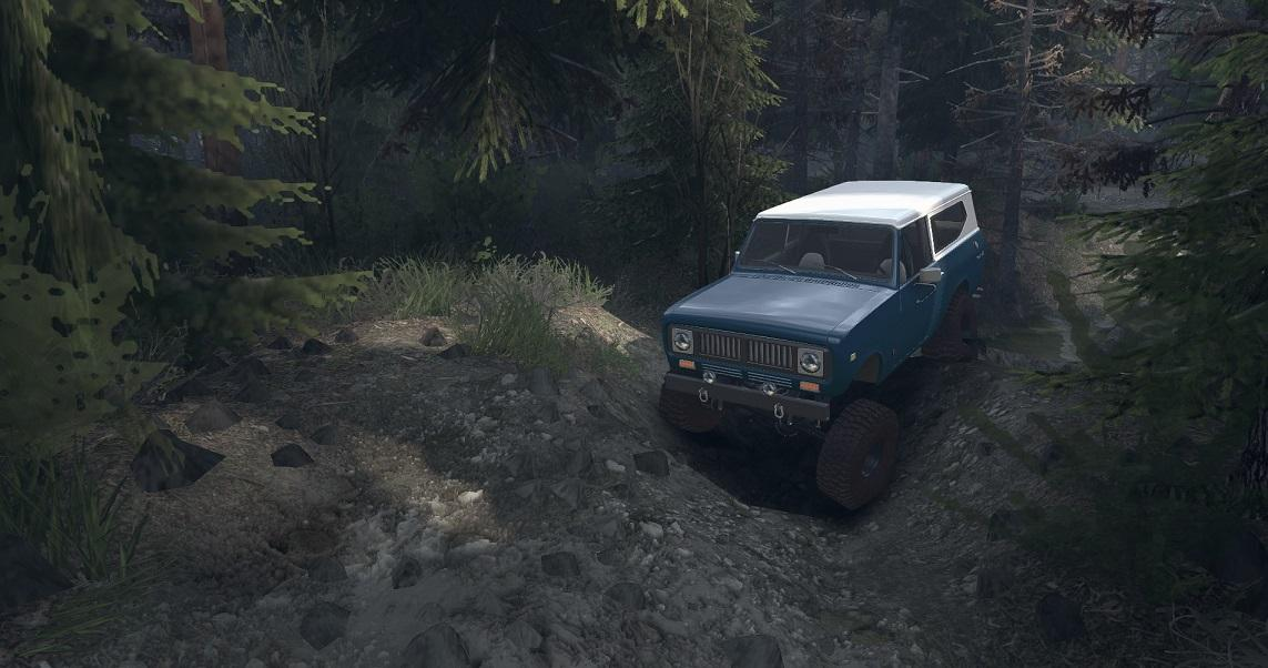SID 1977 International Scout II 1.0 для Spintires - Скриншот 2