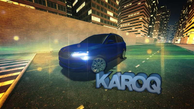 Skoda Karoq Night Urban Drive