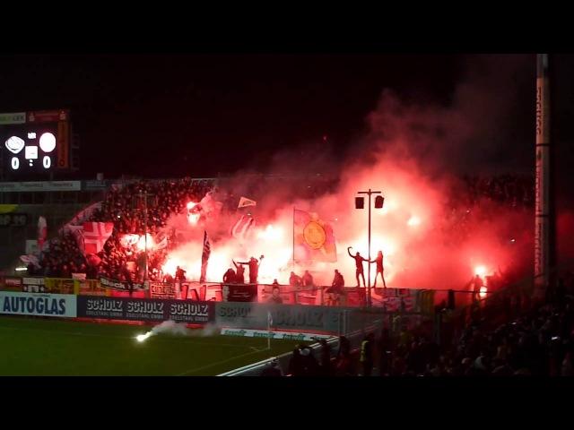 Pyro Bengalos | VFR Aalen - Fortuna Düsseldorf 1.11.13 F 95