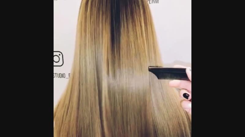 Кератиновое выпрямление волос пермь