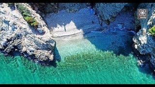 Κρυφές παραλίες της Αττικής 4Κ Τα τρία λιμανάκια