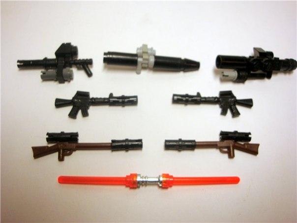 Смотреть видео как из лего сделать оружие