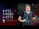 Luka Doncic 8 pts 4 rebs 6 asts vs Pelicans 18/19 season