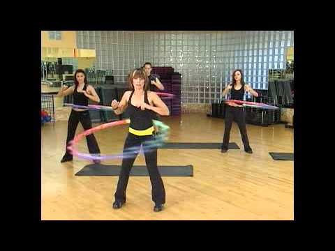 Weighted Sports Hula Hoop Workout - 5 - Challenge Moves by Rosemary