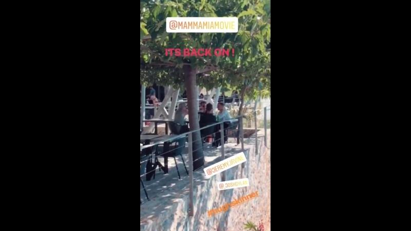 Личные видео / Джереми c кастом Маммы Мии на острове Скопелос, Греция, 20.09.2018