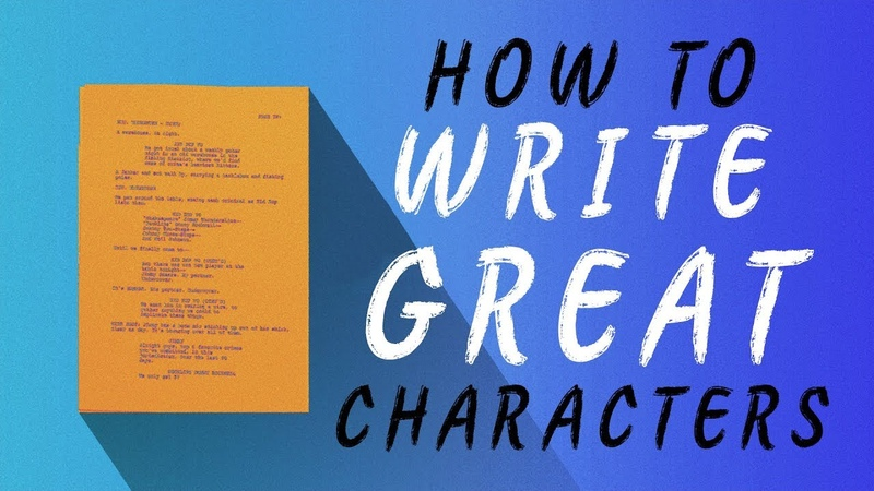 How to Write Great Characters