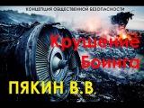 Валерий Пякин о сбитом боинге на Украине