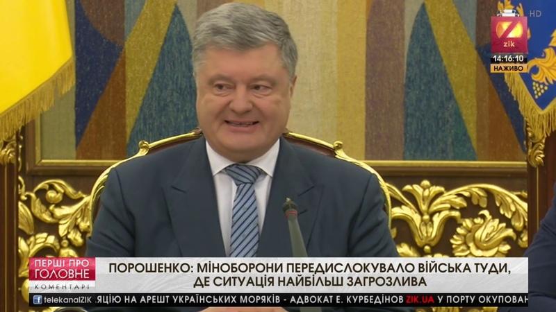 Засідання РНБО щодо закінчення воєнного стану Коментарі за 26.12.18