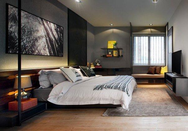 Interior design ideas grey walls