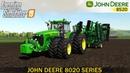 Farming Simulator 19 - JOHN DEERE 8020 SERIES Plowing Field
