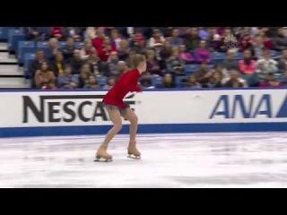 Выступление Юлии Липницкой на зимней Олимпиаде в Сочи 2014 произвольная программа