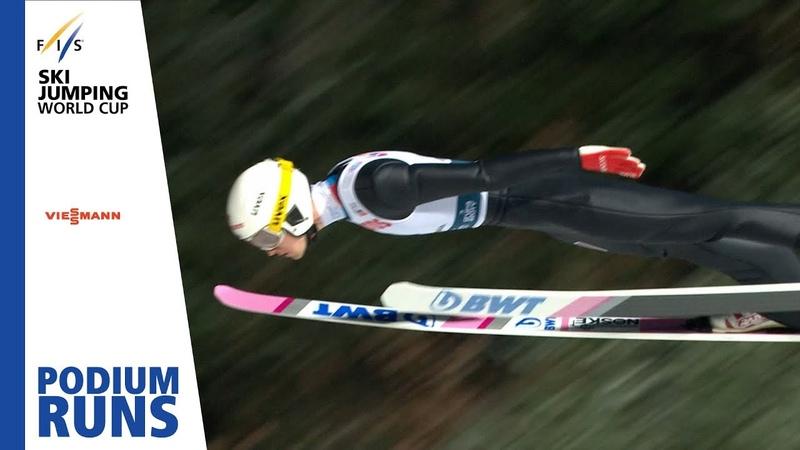Российский спортсмен впервые выиграл этап Кубка мира по прыжкам с трамплина