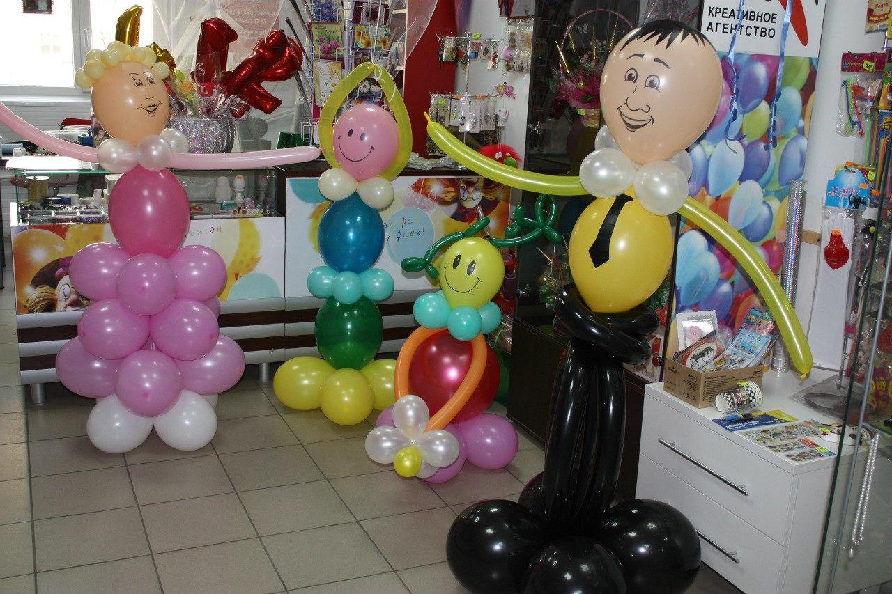 Мастер класс фигуры из воздушных шаров