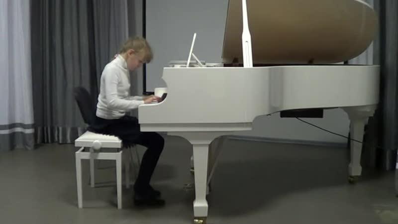 Турьева Кристина - Танец; Дождик