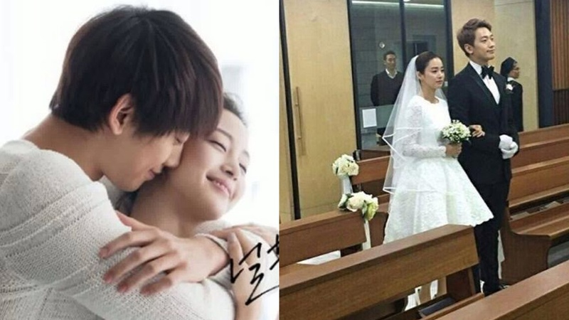 Rain and Kim Tae Hee are married pictures from their beautiful wedding | Korean News
