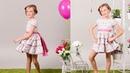 Vestido de vuelo REVISTA PATRONES INFANTILES Nº 6