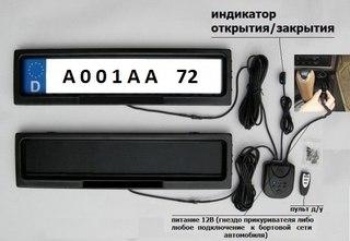 Размеры номера на авто - Журнал авто