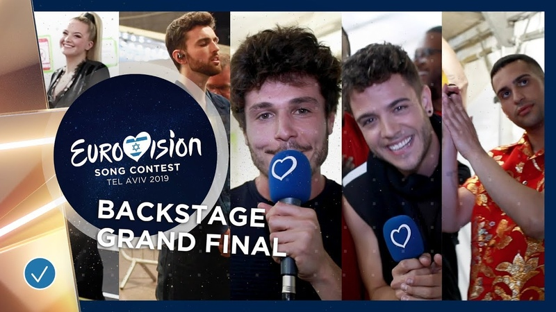 EXCLUSIVE FOOTAGE: Artists get emotional after their Grand Final performance